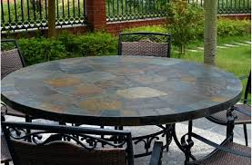 Patio Table Tile Top Slate Top Dining Tables U2013 Mitventures Co