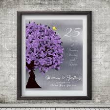 silver anniversary gifts 25 year anniversary personalized gift silver anniversary gift of