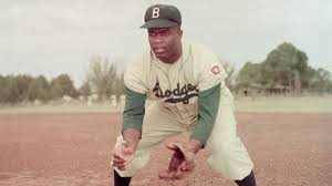 Jackie Robinson Breaks Color Barrier Apr 15 1947 History Com Jackie Robinson Coloring Page