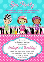 pamper party clipart 53