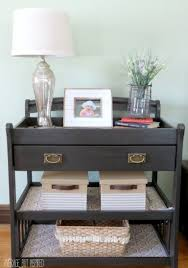 Cribs With Attached Changing Table by Upcycled And Repurposed Crib Ideas