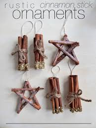 diy rustic cinnamon stick ornaments consider the peel