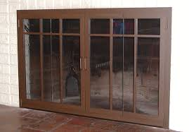 fireplace doors u0026 enclosures rectangle