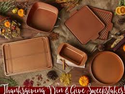 chef thanksgiving win and give sweepstakes