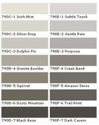behr color chart i am using the celtic grey in my bathroom