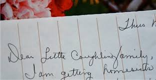 lost art of letter writing