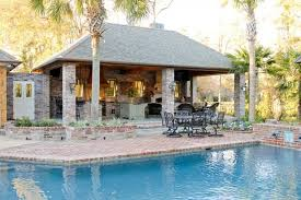 pool and outdoor kitchen designs 15 outdoor kitchen designs for a