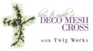 mardi gras outlet deco mesh party ideas by mardi gras outlet deco mesh twig works cross how to