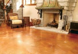How To Stain A Concrete Basement Floor by Concrete Indoor Surfaces