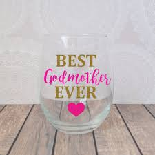 Godmother Wine Glass Wine Glasses Haute Mama Boutique