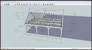 Garage Planning by Designing Roofs For Solid Oak Frames