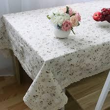 farmhouse style table cloth farmhouse style cotton linen table cloth dandelion printed