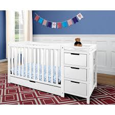 graco remi 4 in 1 convertible crib and changer in white free shipping