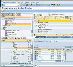 sap t code description table sap ppose transaction code to view people and org units in hr