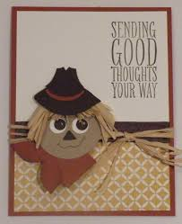 thanksgiving homemade cards addicted to stamping punch art