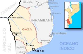 Mozambique Map Mozambique Gaza Destaque U2022 Mapsof Net