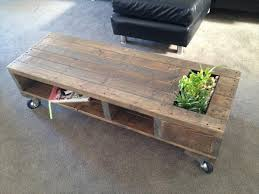 Industrial Coffee Table Diy Diy Industrial Pallet Coffee Table With Planter 101 Pallets
