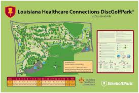 Louisiana Road Map Disc Golf Brec Org