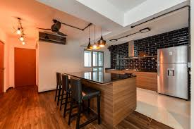 awesome open concept kitchen you u0027ll not believe it u0027s hdb flat