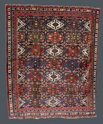 6x6 Rug 5 6 X 6 7 Antique Afshar Rug Panel Design South Central Persian