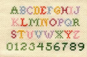 free alphabet cross stitch patterns