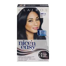 nicen easy color chart clairol nice n easy permanent color 2bb 124 natural blue black 1 0