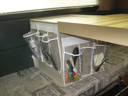 how to organize add storage and improve life in a truck camper