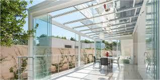 verande in plastica tettoie per terrazzi unico veranda in alluminio con tetto apribile