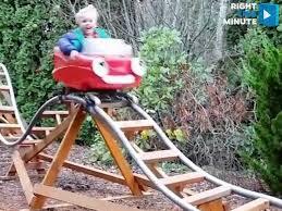 roller coaster for backyard video ultimate backyard roller coaster 38thespot com