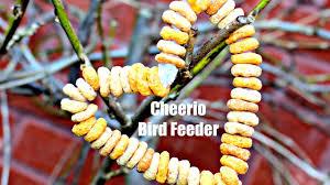 easy kids craft cherrios bird feeder fun activities for