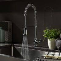 country style kitchen faucets kitchen design and decoration with single brushed steel
