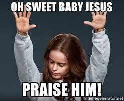 Baby Jesus Meme - sweet jesus meme generator 28 images no ben affleck dear sweet