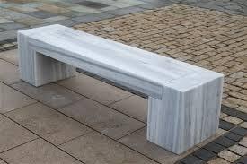 white marble bench mvstone ie
