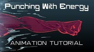 how to animate a punch with energy youtube