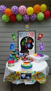 inside out party pin by mari on festa inside out
