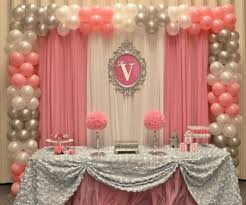 Barbie Themed Baby Shower by It U0027s A Pink And Silver Baby Shower Party Ideas Baby