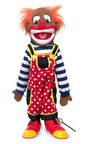 clown puppet