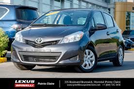 feux lexus toyota yaris 2014 toyota yaris le ac auto 5portes d u0027occasion à vendre