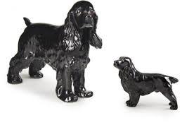 boehm porcelain royal doulton cocker spaniel figurines