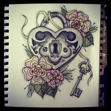 voodoo heart tattoo cool colour art drawings google search drawing pinterest
