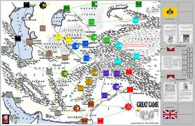Asia Map Games by Legion Wargames