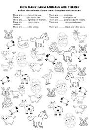 farm animal worksheets worksheets
