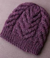 easy and simple knitting hat patterns cottageartcreations