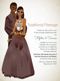 10 african wedding invitations designed perfectly south african