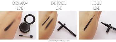 eyeliner soft line vs sharp line beauty point of view
