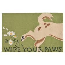 Target Green Rug Frontporch Wipe Your Paws Green Rug Liora Manne Target