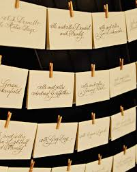 place cards etiquette classic seating cards and displays martha stewart weddings