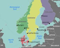 World Map Sweden by Rescuers Maps Facing History And Ourselves