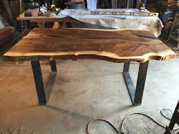 Slab Dining Table by Black Walnut Slab Dining Table Ambrose Woodworks