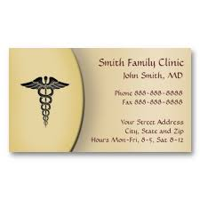 doctor physician medical symbol business card psychology